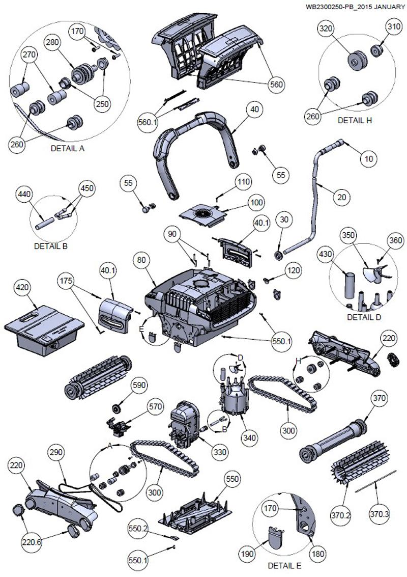 Aquabot Prime - Residential Parts